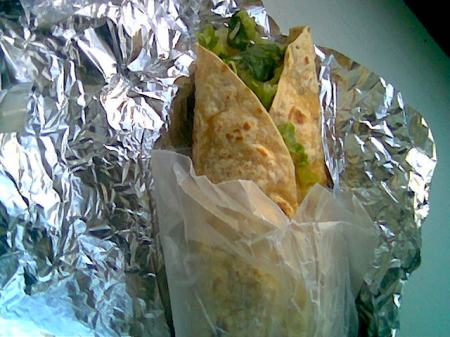 New World Tortilla - Chicken Salad Special on new Cayenne Wrap